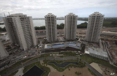 The 2016 Olympics Athletes' Village is seen under construction in Rio de Janeiro, Brazil, July 23, 2015.