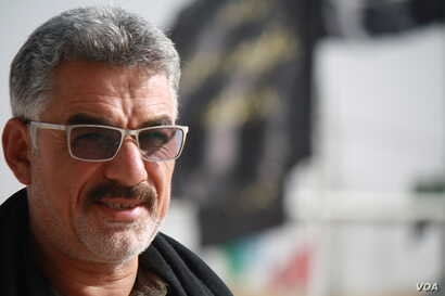 Commander Zaki Muratti of the Hashd Shaaby, a now a formal Iraqi fighting force made up of primarily Shia militias, says he fears the independence movement will spark conflict in Kirkuk, Sept. 26, 2017.