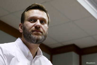 Russian anti-corruption campaigner and prominent opposition figure Alexei Navalny is seen attending a hearing at the Moscow City Court in Moscow, Russia, Feb. 12, 2016. VOA spoke to him on possible repercussions on the Russian elite of the release of...