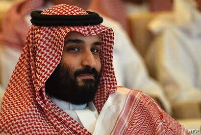 FILE - Saudi Crown Prince Mohammed bin Salman attends the Future Investment Initiative conference in the Saudi capital Riyadh, Oct. 23, 2018.