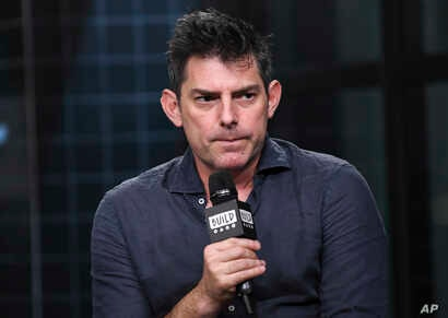 """Director Chris Weitz participates in the BUILD Speaker Series to discuss the film """"Operation Finale"""" at AOL Studios, Aug. 14, 2018, in New York."""