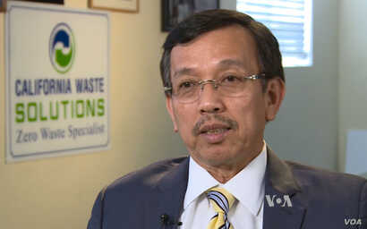 David Duong, President of California Waste Solutions.