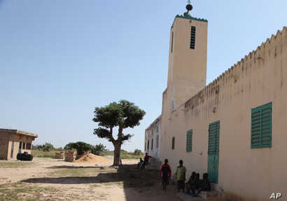 FILE - A view of the mosque that was used by Imam Alioune Badara Ndao in Kaolack, Senegal, on Nov. 20, 2015.