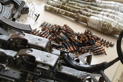 Since declaring emergency rule in northeastern Nigeria, security forces say they have arrested hundreds of Boko Haram members and captured heavy artillery. (Heather Murdock/VOA)