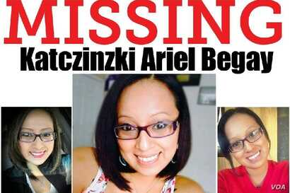 Detail from Missing Person flyer for Navajo Nation citizen Katczinski Ariel Begay