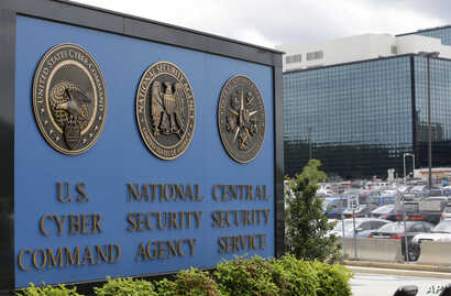 FILE - In his June 6, 2013, photo, the National Security Agency campus is pictured in Fort Meade, Maryland.