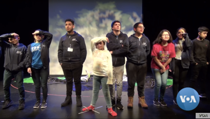 """Children of TPS recipients tell their real-life stories in """"The Last Dream,"""" a project from the Boston Experimental Theatre."""