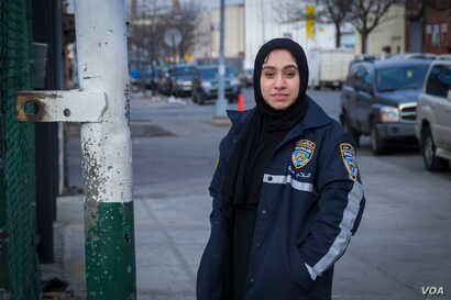 Mahwish Fathma, director of operations for MCPS, says other civilian patrol groups in Brooklyn have served as an inspiration for the group.