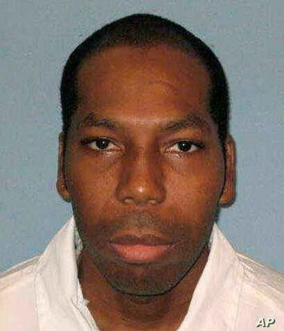 FILE - This undated file photo from the Alabama Department of Corrections shows inmate Dominique Ray. He was put to death Feb. 7, 2019, for the 1995 rape and murder of a 15-year-old girl.