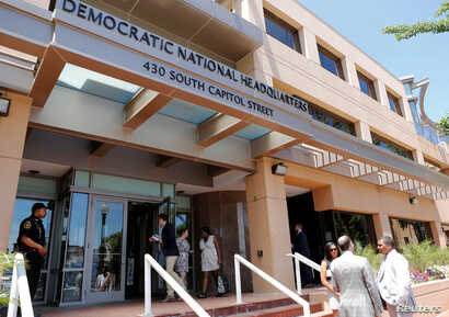 The headquarters of the Democratic National Committee (DNC) is seen in Washington, U.S. June 14, 2016. Russian government hackers penetrated DNC's computer network and gained access to all opposition research on Republican presidential candidate Dona