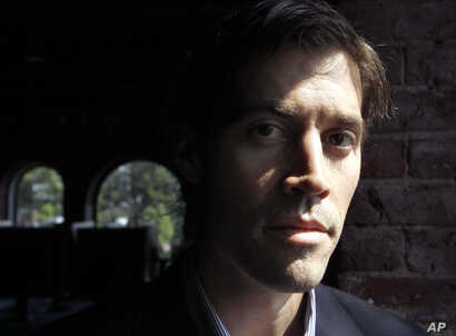 American Journalist James Foley, of Rochester, N.H. AP file photo, May 27, 2011