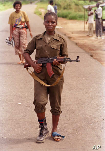 Liberia Government Troops 1992
