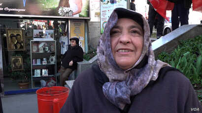 Soaring food prices running around 30 percent is creating anger among people in Istanbul. Seniye says she and husband struggle to survive on their pension.