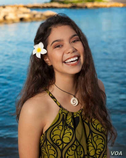 Following a worldwide search to cast Moana's title character, 14-year-old Native Hawaiian newcomer Auli'i Cravalho was chosen to play the role of the spirited and fearless teenager