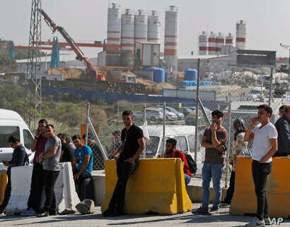 CORRECTION Turkey Workers Detained