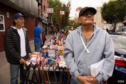"""Gil Morales - Gil Morales, a Puerto Rican and Vietnam veteran who describes himself as a """"patriot"""" who would """"give my life to this country,"""" is frustrated at the speed of federal recovery efforts on the island. """"Get your butts down there, a..."""
