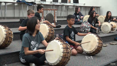 Korean drums play an important role in traditional Korean music.