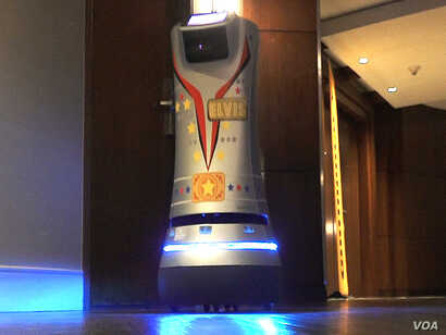 "Many hotels have given their delivery robots names. The Renaissance Las Vegas Hotel calls its two delivery robots Elvis and Priscilla after the ""King of Rock and Roll"" Elvis Presley and his former wife."