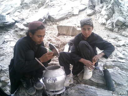 The two brothers learned to operate various kinds of weapons including AK 47s and rocket launchers.