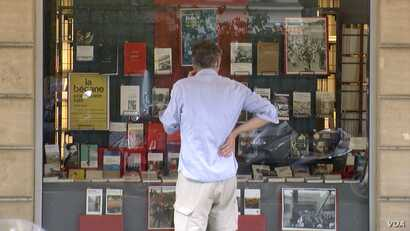 A bookstore in Paris' Latin Quarter, which is also home to one of the world's first universities.