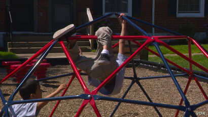 No matter which way you look at it, playgrounds are fun
