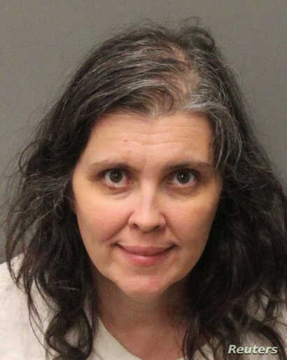 Louise Ann Turpin appears in a booking photo provided by the Riverside County Sheriff's Department, Jan. 15, 2018.