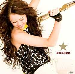 """Miley Cyrus' """"Breakout"""" CD"""