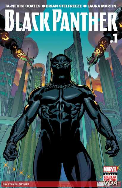 When Marvel's Black Panther debuted in an issue of Fantastic Four, in 1966, he was the first black superhero in mainstream American comics
