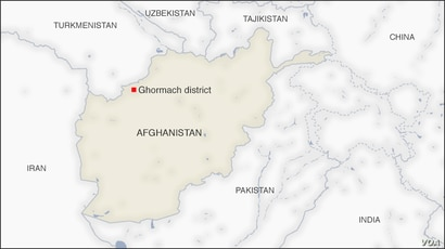 Ghormach district Afghanistan