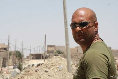Ahmed Ghalibi, a fighter with the Emergency Response Division says the upcoming battle for Old Mosul, IS's last stronghold in the city, may prove to be the most difficult battle to date in Mosul, Iraq, June 15, 2017.