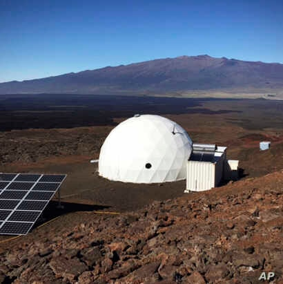 Six carefully selected scientists entered this geodesic dome called Hawaii Space Exploration Analog and Simulation, or HI-SEAS, located 8,200 feet above sea level on Mauna Loa on the island of Hawaii, Jan. 19, 2017, as part of a human-behavior study....