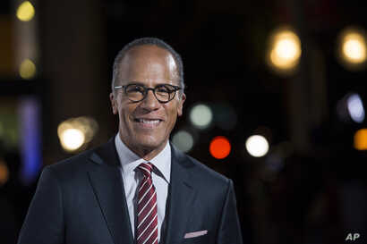 FILE -  NBC Nightly News anchor Lester Holt.