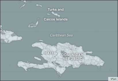 Haiti, and the Turks and Caicos Islands