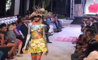 This year, Haiti Fashion Week focused on Innovation and haute couture. (Photo: Matiado Vilme for VOA)