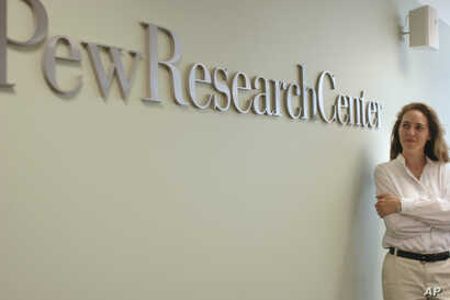 The Pew Research Center in Washington, D.C. on July 6, 2005, is the author of a 2017 study looking at the spread of automation and robotics in the workplace.