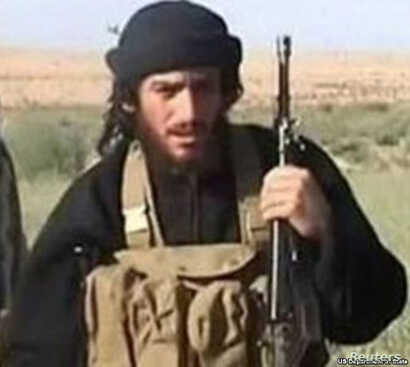 Islamic State spokesman Abu Muhammad al-Adnani, reportedly killed Tuesday, is pictured in this undated handout photo, courtesy the U.S. Department of State.