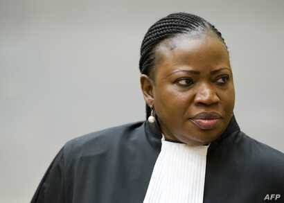 International Criminal Court chief prosecutor Fatou Bensouda from Mali at the International Criminal Court in The Hague, Dec. 18, 2012.