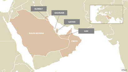 The Gulf Cooperation Council (GCC) is an alliance of six Gulf states, including Saudi Arabia, Kuwait, the United Arab Emirates, Qatar, Bahrain and Oman.