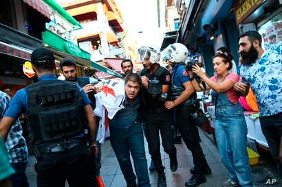 Turkey Workers Detained