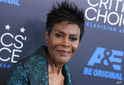 FILE - Cicely Tyson