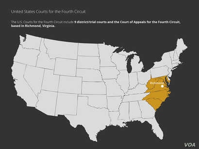 Courts Explainer: 4th Circuit Court Map