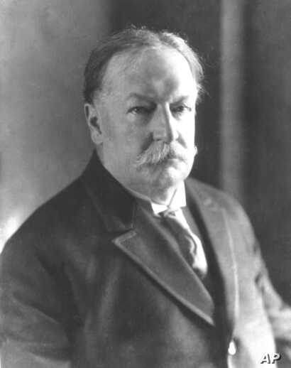 William Howard Taft, 27th president of the United States.
