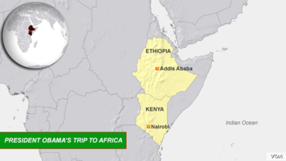 President Obama's Trip to Africa, July, 2015