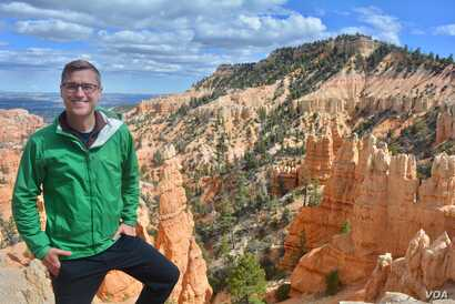 One of the main attractions at Bryce Canyon National Park in southern Utah are the thousands of red-hued hoodoos, odd-shaped pillars made of rock that date back millions of years. (M.Meyer)