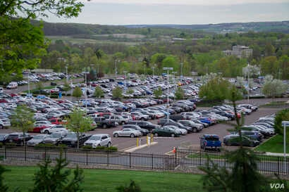 Geisinger Medical Center employs 6,200 employees, more than doubling the size of Danville, Pennsylvania when fully staffed.