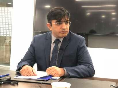 Mohsin Dawar, MNA from North Waziristan speaking at Hudson Institute
