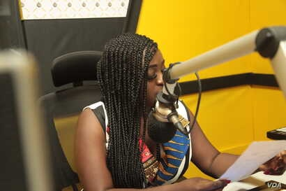 Ghanaian broadcaster and activist Felicity Nana Nelson uses radio and social media to advocate for women.