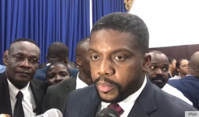 Prime Minister nominee Fritz William Michel talks to VOA Creole after the lower chamber approves his nomination, Sept 3, 2019