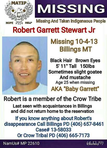 Missing:  Baby Garrett