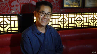 """Filmmaker, curator and author Arthur Dong wrote the book, """"Hollywood Chinese: The Chinese in American Feature Films."""" (E. Lee/VO"""